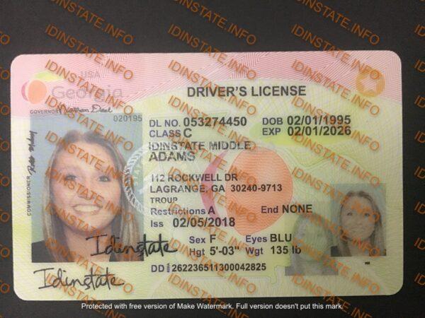 BEST GEORGIA FAKE ID
